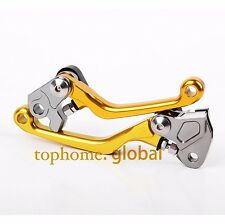 Clutch Brake Levers For Suzuki 250SB DR250R RMX250S RM125/250/85 RMZ250/450