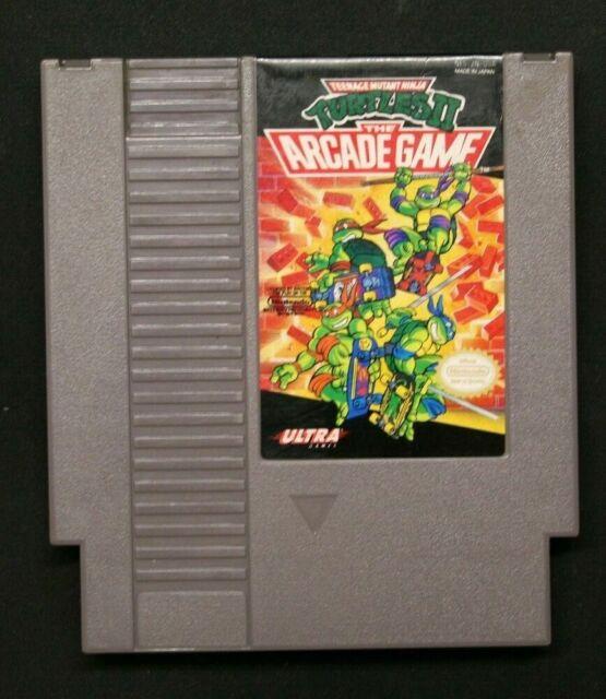 Teenage Mutant Ninja Turtles 2: The Arcade Game (NES, 1990)