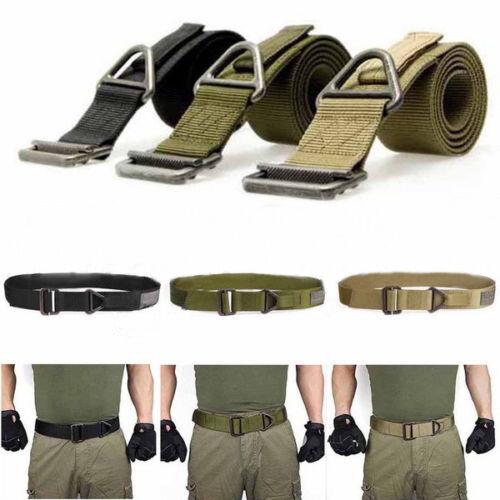 Good Adjustable Survival Tactical Belt Emergency Rescue Top Militaria Military
