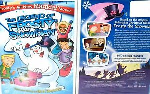 image is loading the legend of frosty the snowman new dvd