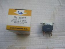 Cole Hersee 57007 Rocker Switch, 3 position, SPDT, 2-speed heater/defroster NOS!