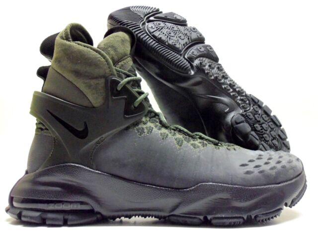 b988ae31cb014 Nike Zoom Tallac Flyknit ACG 865947 002 Black cargo Khaki Men s BOOTS Sz 9.  +.  234.99Brand New