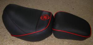 Sitzbezug Sitzbankbezug für Yamaha Virago 535  Bezug incl. Logo