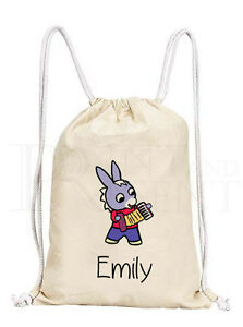 de36597267 Personalised Childrens Boys Trotro Cartoon Drawstring Canvas Gym/ PE ...