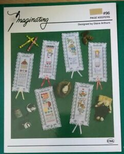 PAGE-KEEPERS-CROSS-STITCH-BOOKMARK-IMAGINATING-LEAFLET-96