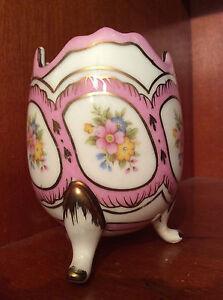 Egg-Pink-Tripod-Porcelain-Polychrome-Decor-Flower