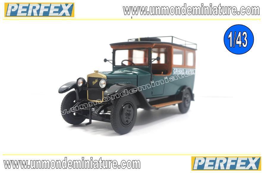 Berliet VHA 1924 GRAND HOTEL HOTEL HOTEL PERFEX - PE 325 - Echelle 1 43 En résine 7f67e9