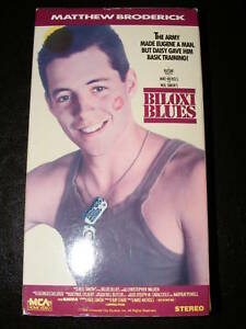 Biloxi Blues Vhs Matthew Broderick Christopher Walken Ebay