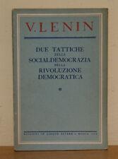 DUE TATTICHE DELLA SOCIALDEMOCRAZIA NELLA RIVOLUZIONE DEMOCRATICA di V. Lenin