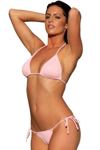Sheer String Bikini Swimwear Swimsuit Beachwear Top Only