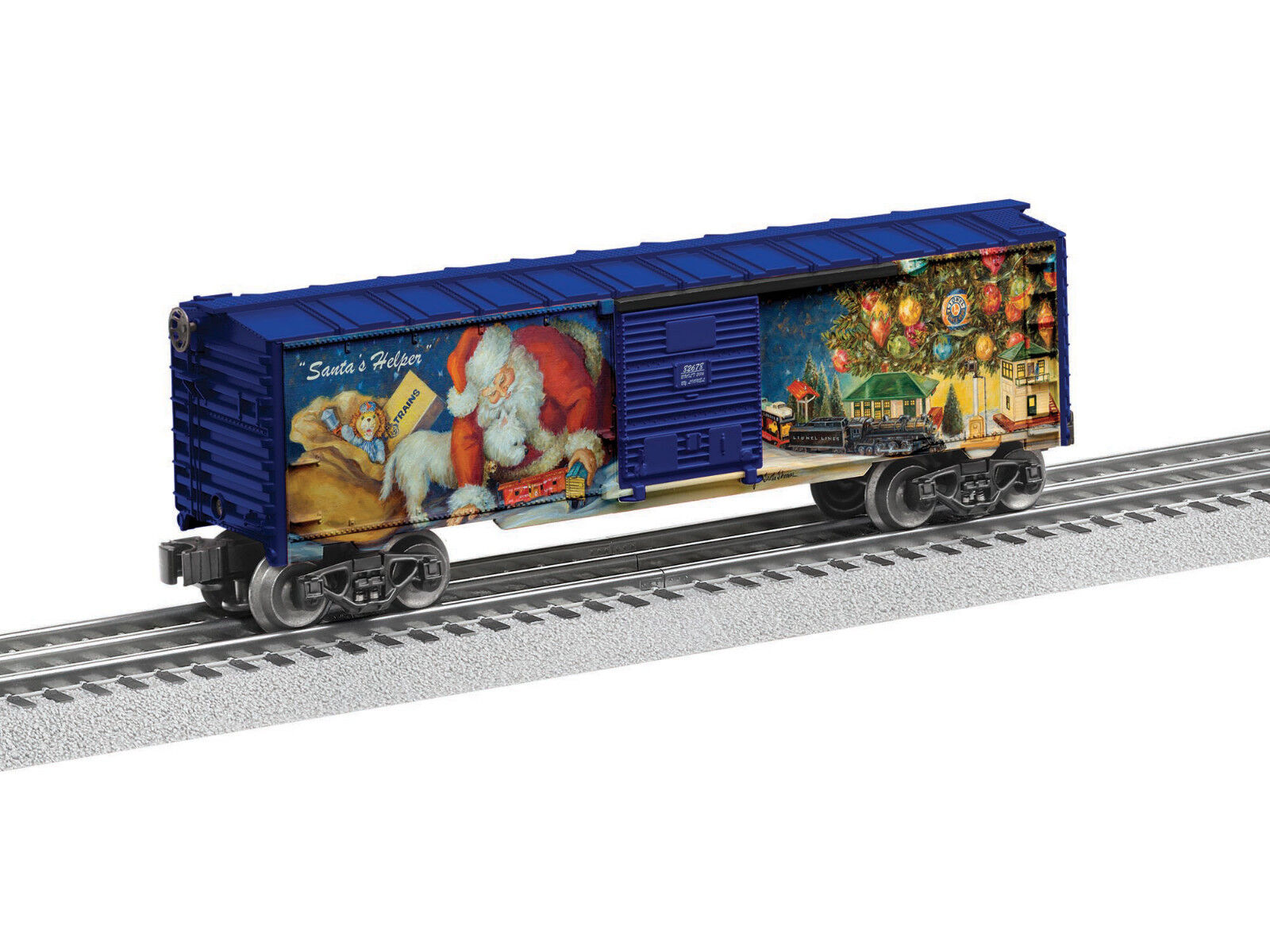 Lionel 6-82678 Angela Trotta Thomas Christmas 2016 Box Car O 027 - Brand Nuovo
