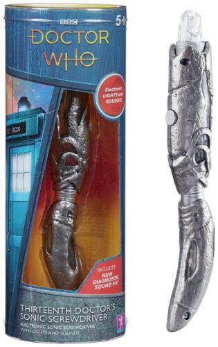 Doctor Who Cacciavite Sonico 13th Light Up FX Effetti sonori Jodie Whittaker
