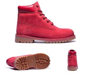 Timberland-junior-Rouge-6-in-environ-15-24-cm-Premium-Waterproof-Boots-UK-3-6-5