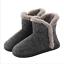 Women Cozy Plush Fleece Bootie Slippers Winter Indoor Outdoor House Shoes