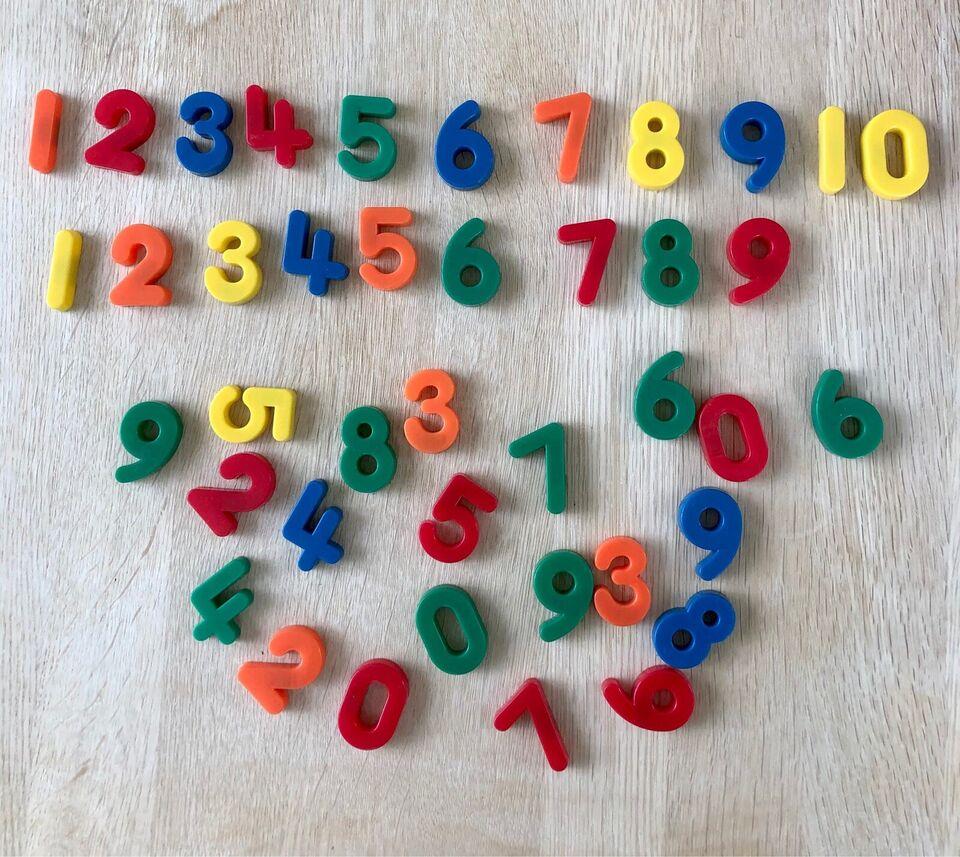 Andet legetøj, Magnet-tal, 40 plastiktal