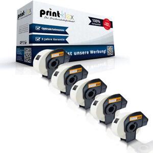 5X-Compatible-Etiquetas-Rollos-para-Brother-P-Touch-Ql-700-30-48M-Eco-por-Cada