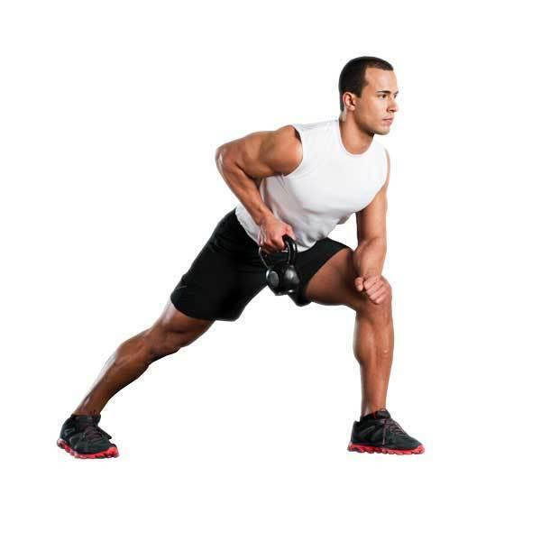 Lifeline USA Kettlebell herramienta de entrenamiento de cuerpo completo-DISC construye fuerza y poder
