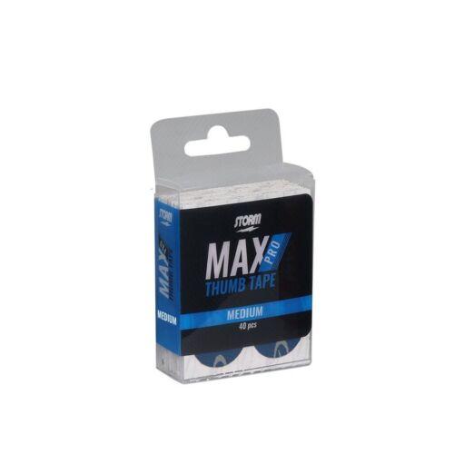 Storm Max Pro Fast BLUE Pre-Cut Bowling Thumb Tape Pack