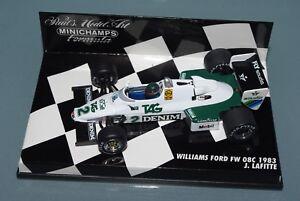 Minichamps-1-43-F1-Williams-Ford-FW08C-Jacques-LAFITTE-1983