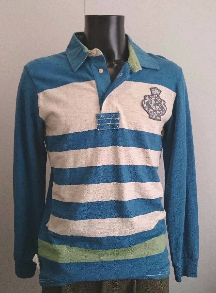 Joules Da Uomo Moulton Deepsea TOP RUGBY XLarge