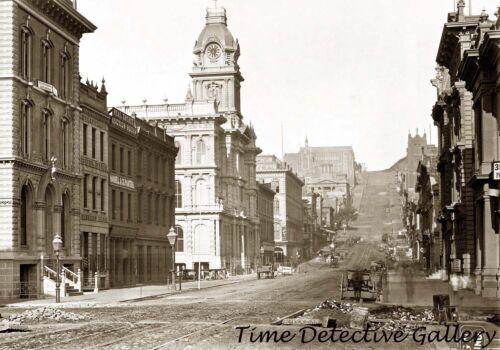 1864 San Francisco California Street California Historic Photo Print