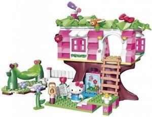 jeu de construction hello kitty mega bloks maison - Jeu De Construction De Maison Gratuit