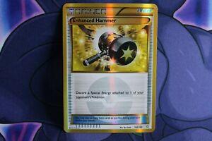 New Listing Pokemon Card Enhanced Hammer 162/160 Primal Clash Gold Secret Rare Damaged