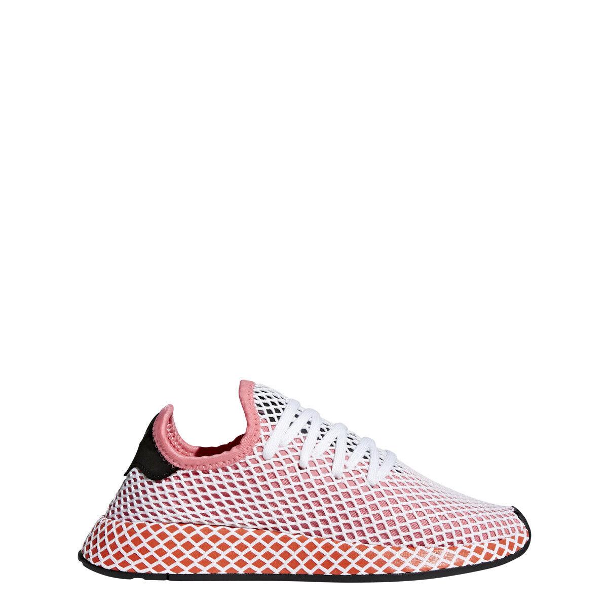 adidas Womens DEERUPT RUNNER W Pink/Pink/Orange - CQ2910