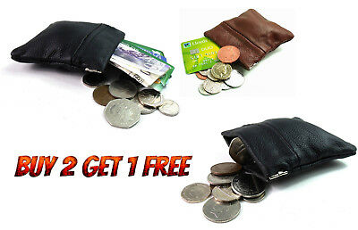 PU Leather Coin PouchSTRONG Metal Spring ClosureSnap Top Coin Purse*SprngC