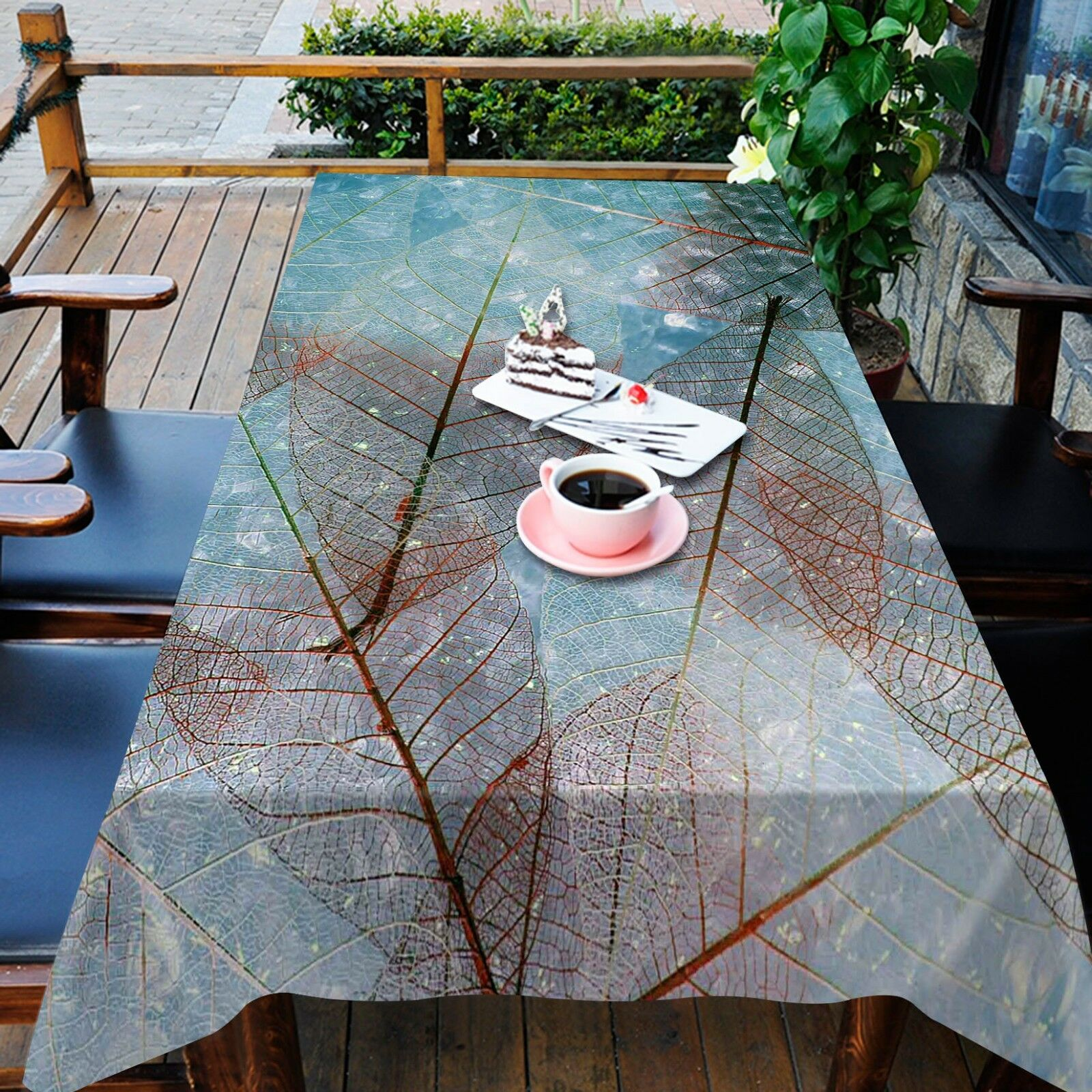 3D Leafage 778 Tablecloth Table Cover Cloth Birthday Party Event AJ WALLPAPER AU