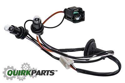 s l400 08 12 jeep liberty license plate light lamp wiring harness oem mopar