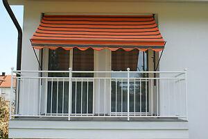 klemm markise mit manuellem kettenantrieb dralon 1400 ebay. Black Bedroom Furniture Sets. Home Design Ideas
