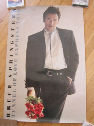 BRUCE SPRINGSTEEN Tunnel of Love Express Tour UK  Poster