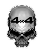 2 Skull Decal - 4x4 Truck Skull Sticker Off Road Mudding Mud Graphic ipad decals