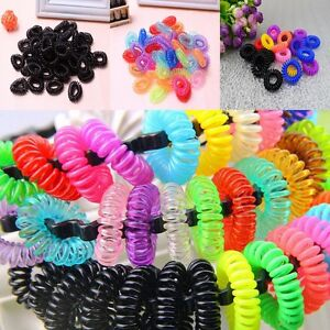 12pcs-Colorful-Girl-Elastic-Rubber-Hair-Ties-Band-Rope-Ponytail-Holder-Bracelets