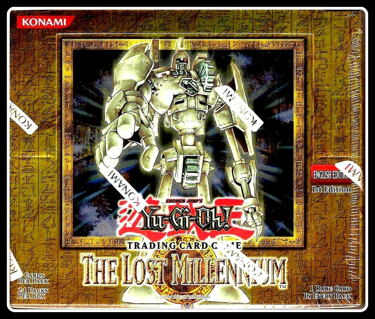 The Lost Millennium 1st Edition - Yu-Gi-Oh Sealed Sealed Sealed Booster BoxGamerzSphere be0adc