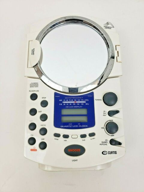 Curtis Shower Radio RS59A White CD Player | eBay