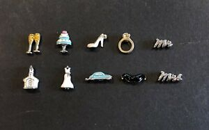 Authentic Origami Owl Bridal Wedding Engagement Charms - NEW - FREE Shipping!!!