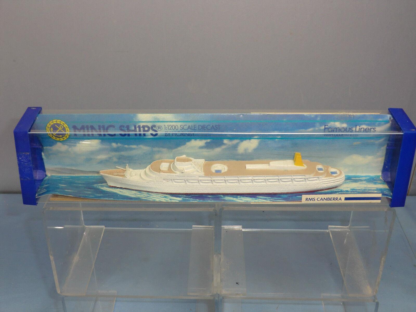 Tri-ang Minic Ships Model No.M715  RMS CANBERRA  VN En parfait état, dans sa boîte