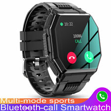 Sports Smart Watch Bluetooth-Call Blood Oxygen/Presure For iPhone iOS Android