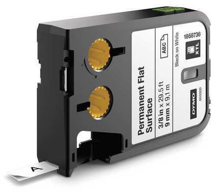 DYMO 1868736 Cartridge Label,0.375 In W,Poly