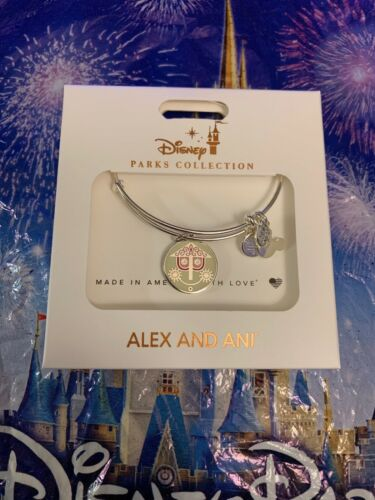 Disney Alex And Ani It's A Small World Double-sided Bracelet New