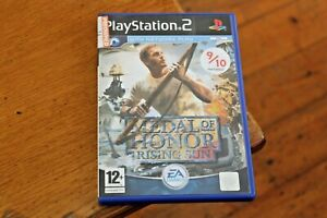 Medal-of-Honour-Rising-Sun-Sony-Playstation-2-PS2-Game-VGC-with-Manual