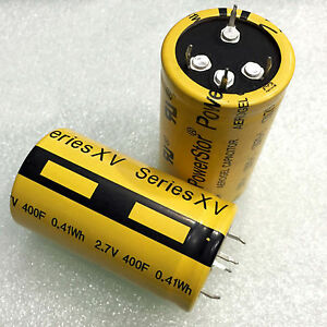 1pcs PowerStor XV Series Snap-in cylindrical supercapacitors 2.7V 400F
