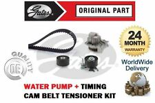FOR CITROEN C5 2.0 HDI 16V 2009-> TIMING CAM BELT TENSIONER KIT + WATER PUMP SET
