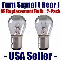 Rear Turn Signal Light Bulb 2pk - Fits Listed Citroen Vehicles - 1157
