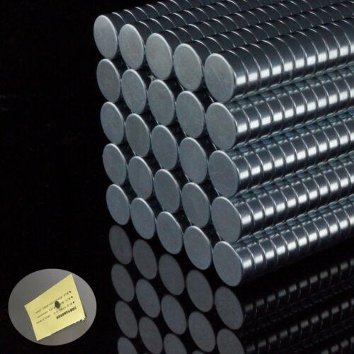 Neodym Magnete Super Round Magneten wählbar 20 40 60 100 Stück Minimagnete 8x2mm