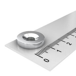 10-STUCK-15x3-mm-NEODYM-SCHEIBEN-MAGNET-MIT-4-5mm-BOHRUNG-UND-SENKUNG-WERKSTATT