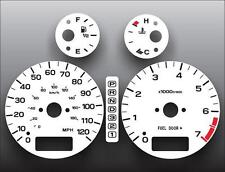 2000-2003 Subaru Legacy Dash Instrument Cluster White Face Gauges