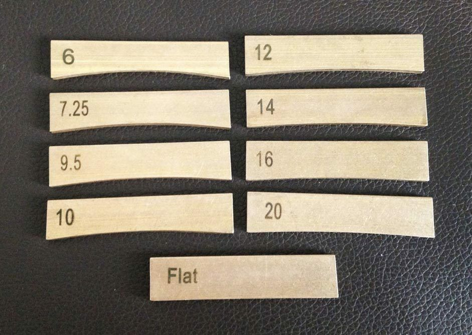 Fret Press Inserts - Set of 9